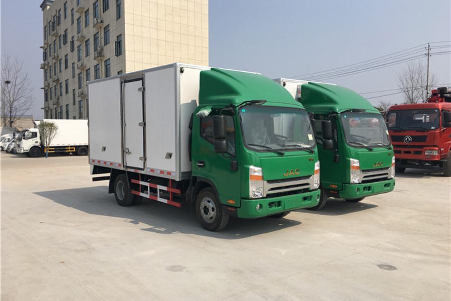 江淮帅铃冷藏车4.2米