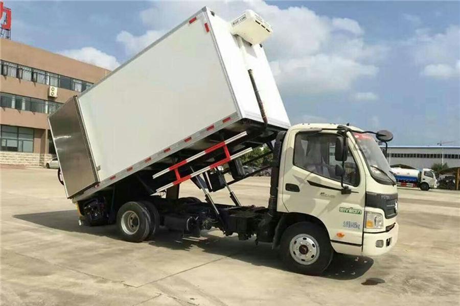 福田欧马可动物无害化处理车多方位图片一