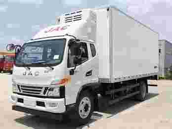 江淮骏铃4.2米冷藏车图片及产品特点