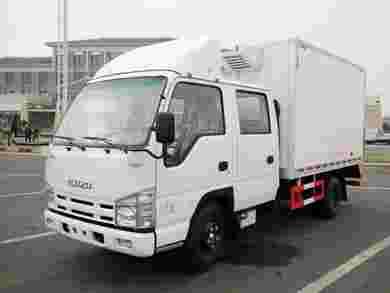 五十铃冷藏车双排冷藏车配置与参数厂家隆重推