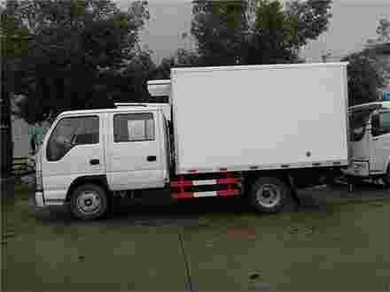 庆铃五十铃冷藏车3.1米冷藏车主要技术参数
