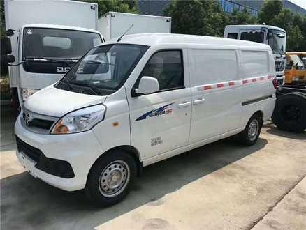 福田风景V5面包式冷藏车