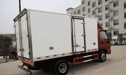 福田奥铃4.2米冷藏车价格低质量优 突出性价比优