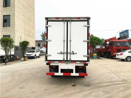 江铃冷藏车厂家价格_4.1米货厢冷藏车多少钱?