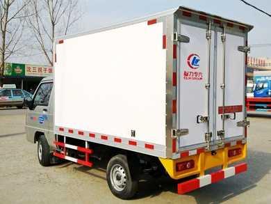 2.6米福田驭菱冷藏车装小龙虾,运输,冷藏,厂