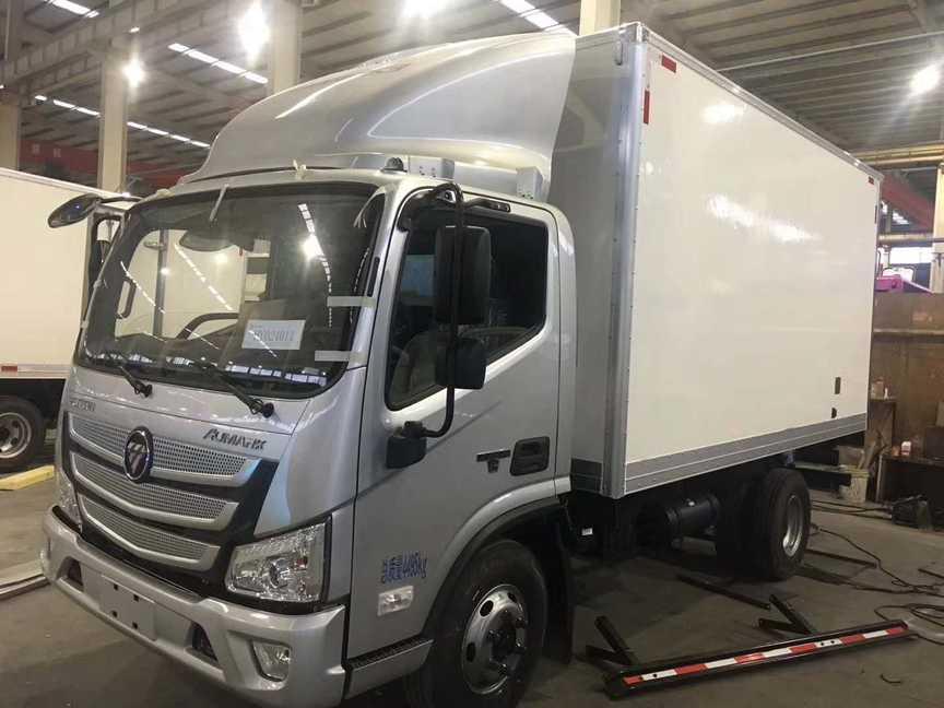 福田4米厢体冷藏车三款配置选购说明