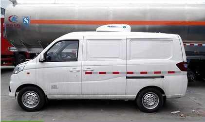 福田伽途小型面包冷藏车价格便宜,性价比高