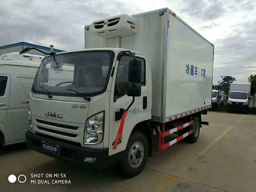 江铃凯锐蓝牌4米2冷藏车, 一台也是厂价!