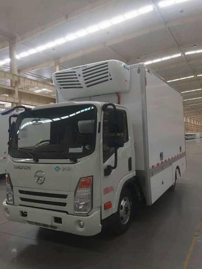北京的朋友看过来!!大运新能源冷藏车有北京