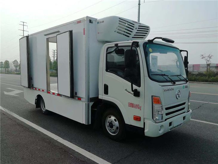 大运纯电动冷藏车4.1米