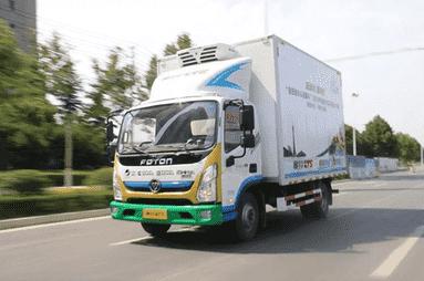 福田奥铃冷藏车高效可靠安全舒适 守护冷链运输