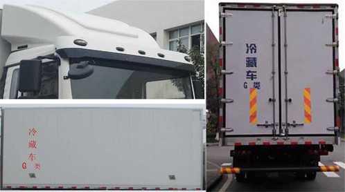 夏日炎炎,达刚牌冷藏车(DGL5180XLC-775)为您带来清凉