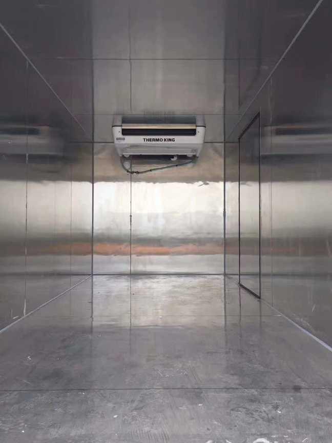 五十铃4米厢体冷冻肉冷藏运输车图片价格