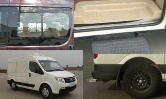 东风牌冷藏车(DFA5031XL冷藏车A1M)产品结构和技术发