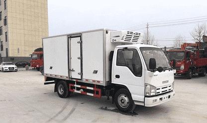 让利促销   庆铃五十铃4.2米冷藏车现售14.5万