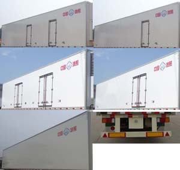 论冷藏半挂车车厢材料构成和日常保养