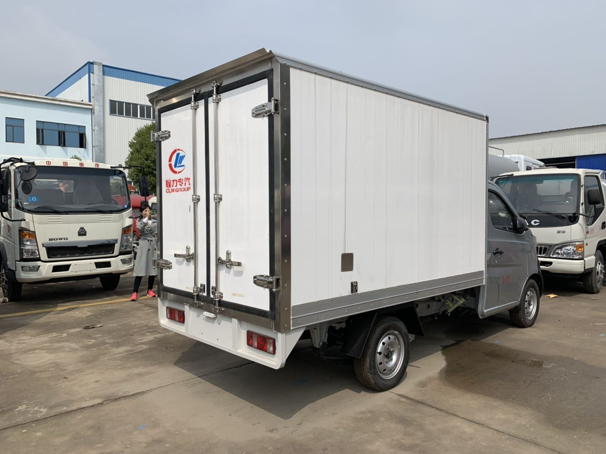 长安国五冷藏车哪里买的好 小龙虾运输