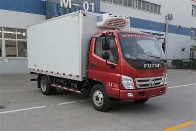 为您介绍热销车型福田牌冷藏车(BJ5079XLC-A1)的工作