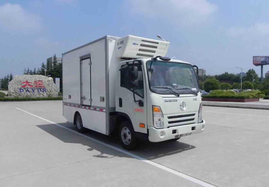 为您介绍热销车型大运牌纯电动冷藏车(CG大运牌