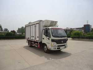 冰熊牌冷藏车(BXL5044XLCS)车厢工艺结构是什么样的