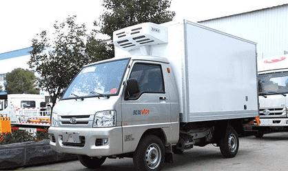 福田驭菱小型冷藏车累销数量已突破40万大关!