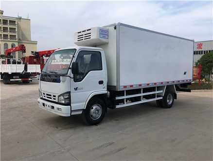 庆铃五十铃600P  5.1米冷藏车