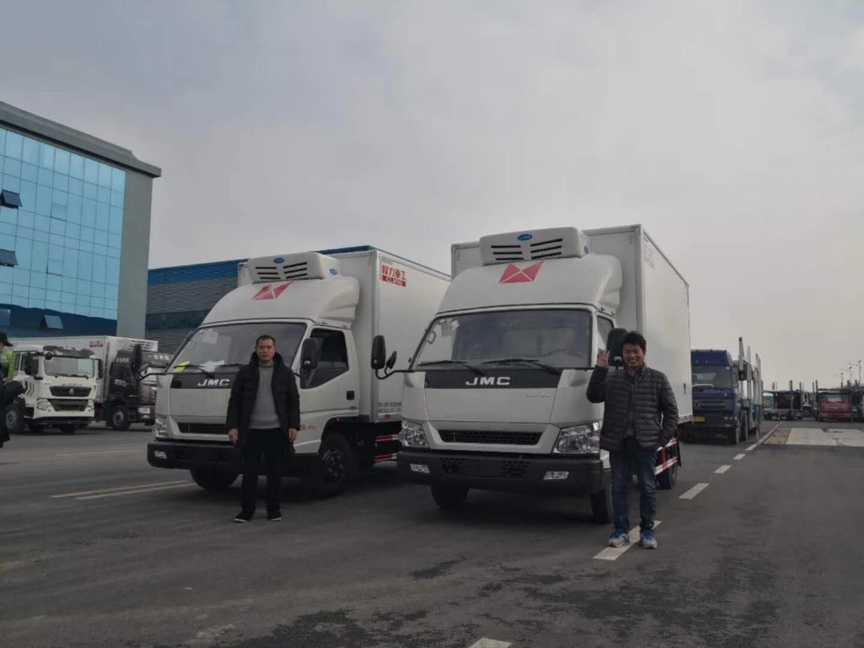 江铃顺达宽体冷藏车4米厢体冷藏车最新报价