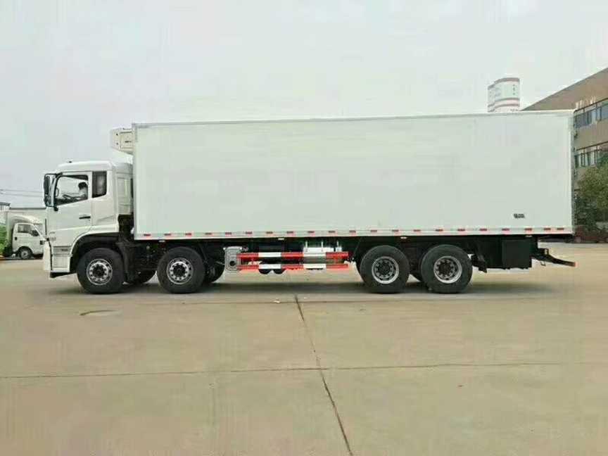 大型冷藏运输车9.4米厢长冷冻车东风天龙款报价