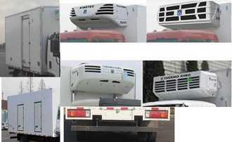 新款解放牌冷藏车(CA5041XLCP40K17L1E5A85),抢占先机
