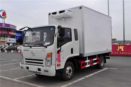 大运排半3.7米冷藏车