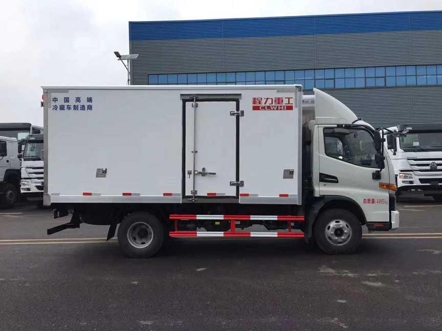 江淮骏铃v6冷藏车价格程力重工高端品质冷藏车厂
