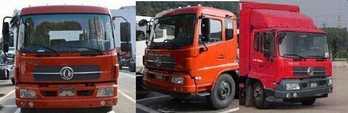 东风牌冷藏车(DFL5160XLCBX18)车厢工艺结构是什么样