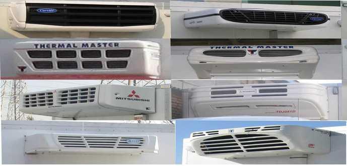 程力威牌冷藏车(CLW5161XLCD5)产品结构和技术发展趋