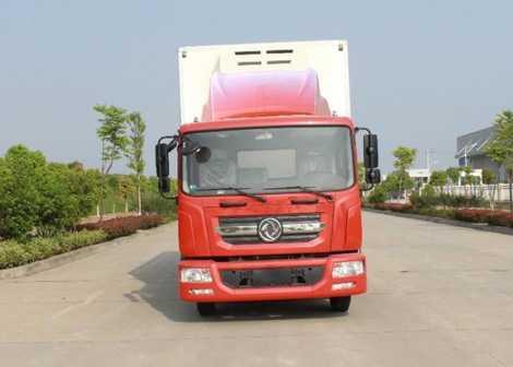 东风牌冷藏车(EQ5142XLCL9BDGAC)产品结构和技术发展