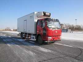 解放牌冷藏车(CA5160XLCP62K1L4A1E5)厂家直销!