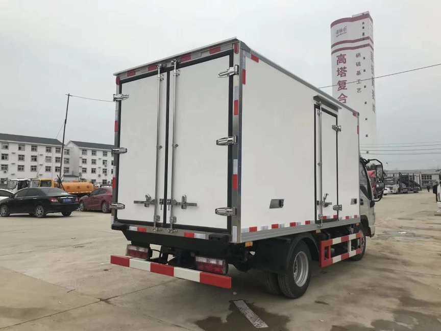 蓝牌江淮3.7米厢体冷藏车蔬菜水果保鲜冷藏运输