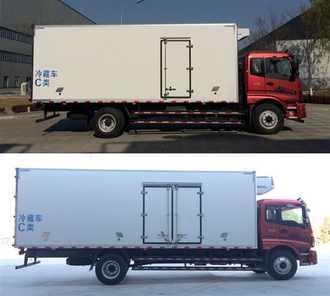 福田牌冷藏车(BJ5169XLC-F2)车厢工艺结构是什么样的