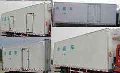 东风牌冷藏车(DFH5180XLCBX1)车厢工艺结构是什么样