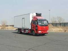 解放牌冷藏车(CA5160XLCP62K1L4A3E4)厂家直销!
