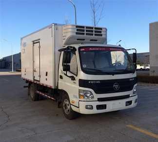 福田牌冷藏车(BJ5049XLC-A6)产品结构和技术发展趋势