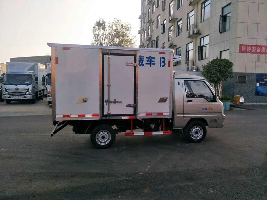 福田驭菱冷藏车多少钱?冷藏车厂家报价
