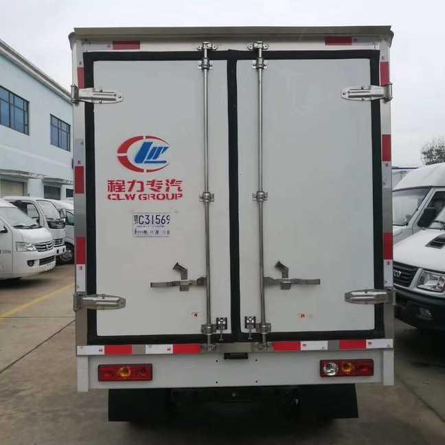 全新国五小型厢式冷藏车价格五万元厂家年底现