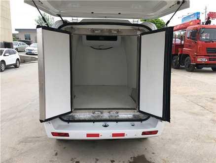 福田迦途ix5面包式 冷藏车