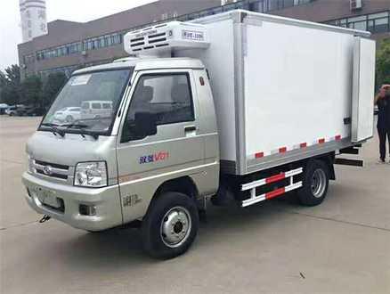 福田驭菱2.9米冷藏车