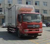 东风牌冷藏车(DFL5160XLCBX18A)车厢工艺结构是什么样