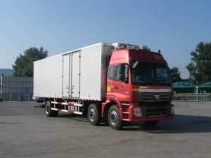 欧曼牌冷藏车(BJ5253XLC-XA)产品结构和技术发展趋势