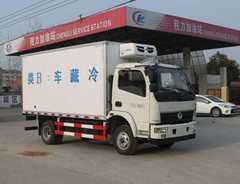 程力威牌冷藏车(CLW5040XLCT4)参数配置图片
