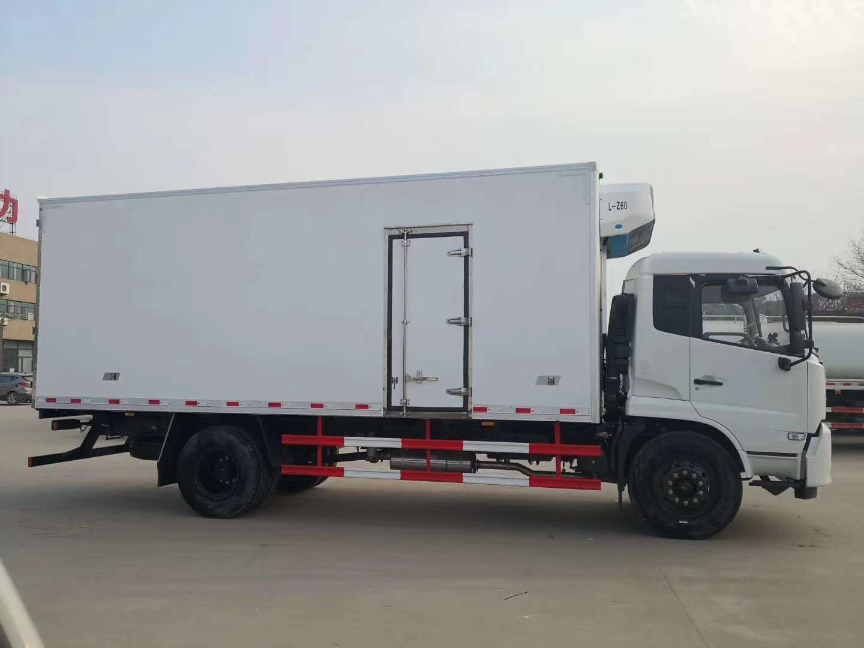 6.5米厢体冷藏车肉钩冷藏车210马力冷藏车多少钱
