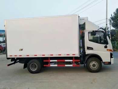 蓝牌冷藏车 4.2米冷藏车 江淮4米2冷链车