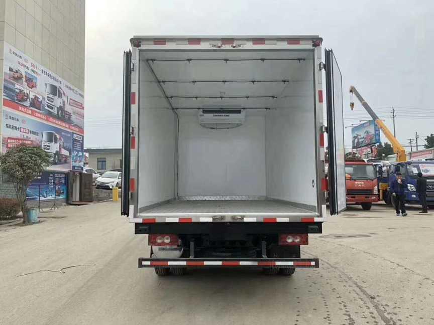 小龙虾冷藏运输车厢式保鲜运输车价格